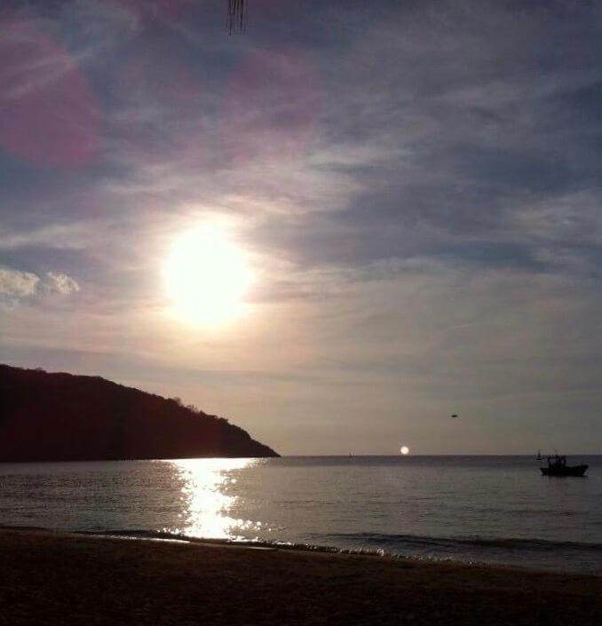 A silent beach in Con Dao