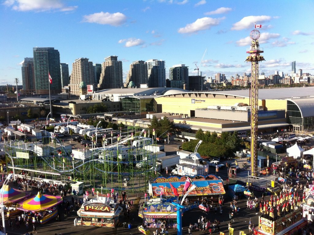 A view of CNE from the cable chair