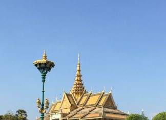 Chanchhaya Pavilion - A Building of Cambodia's Royal Family