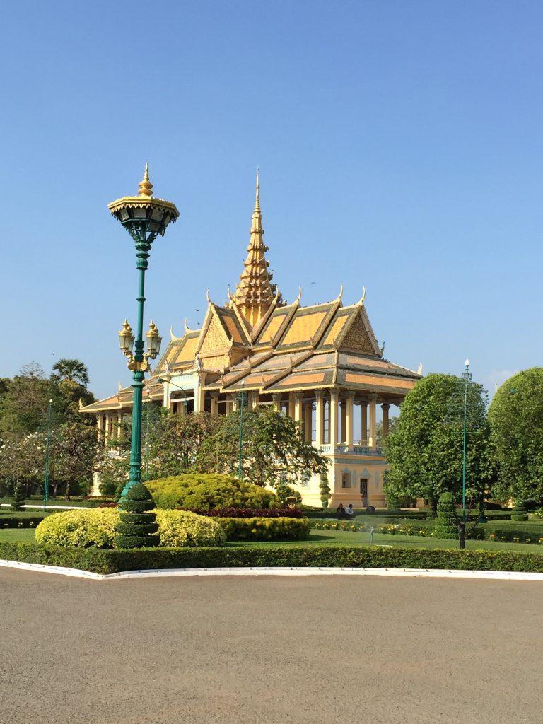 Chanchhaya Pavilion - A Building of Cambodia's Royal Family