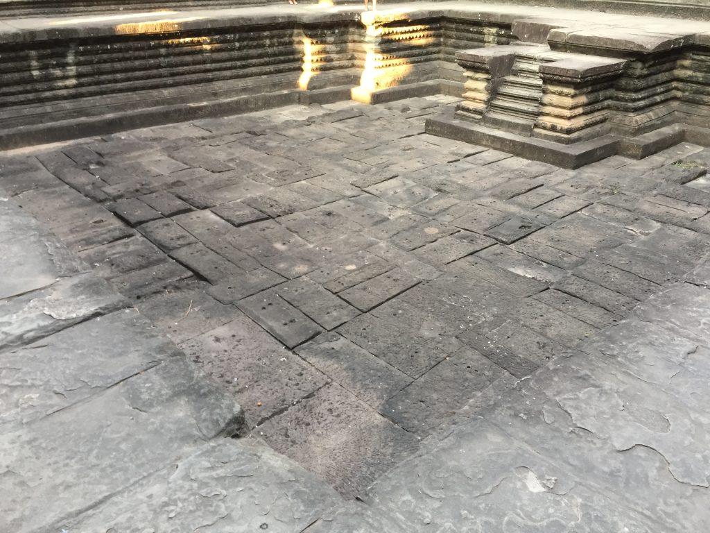 One of the 4 pools in Angkor Wat, Siem Reap