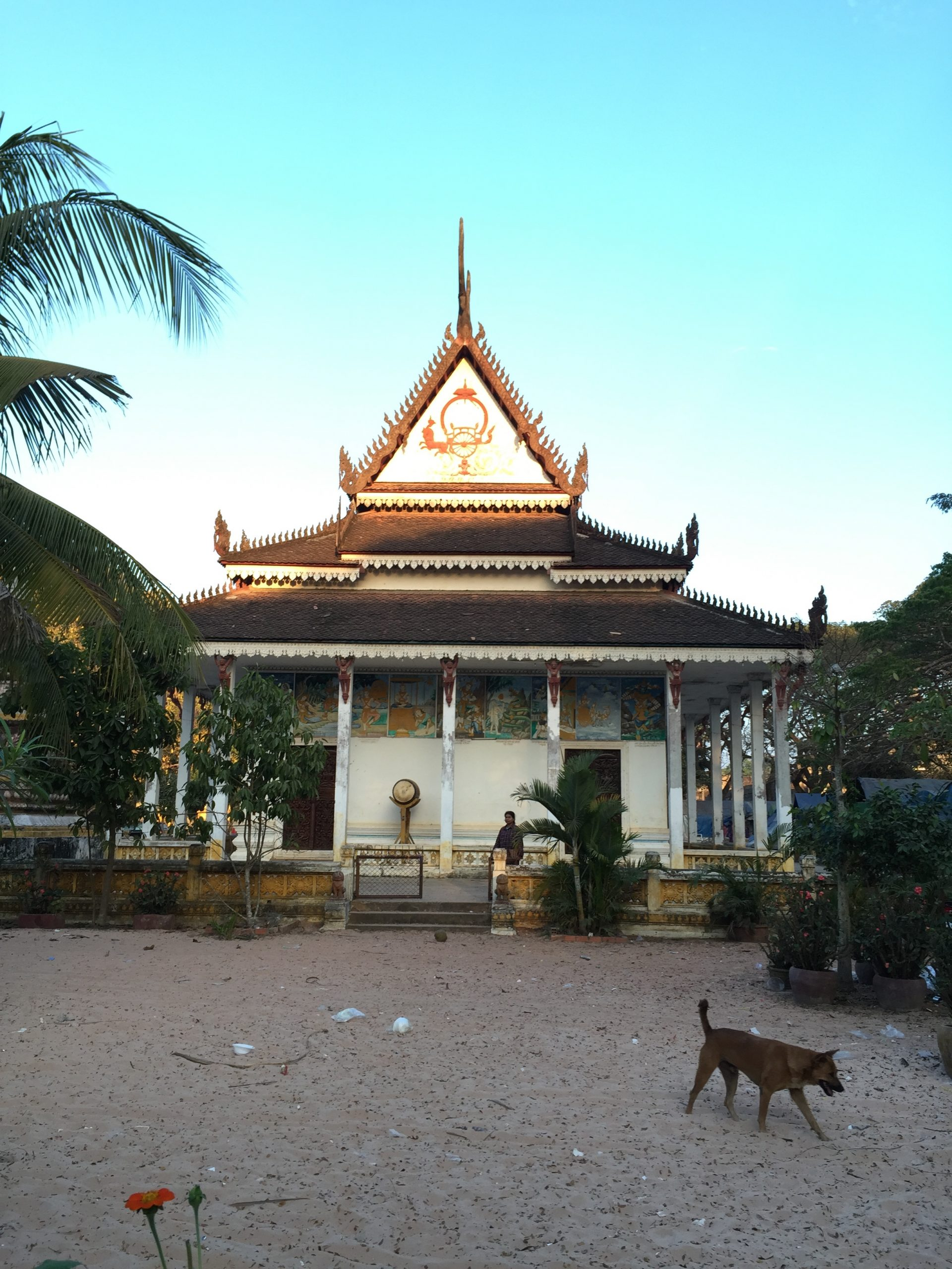 A very old Pagoda in the area of Angkor Wat, Siem Reap