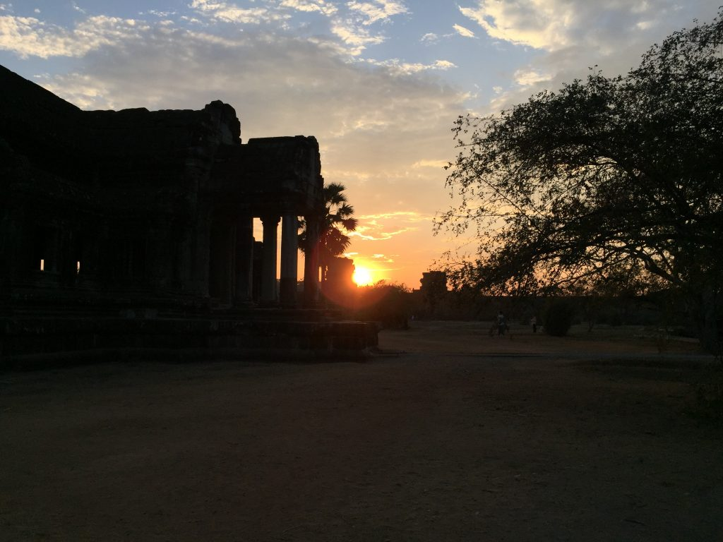 Sunset at Angkor Wat, Siem Reap