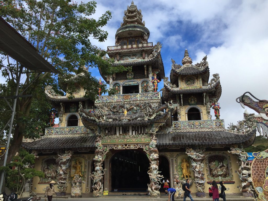 Linh Phuoc Pagoda, one of the interesting Vietnam pagodas in Dalat