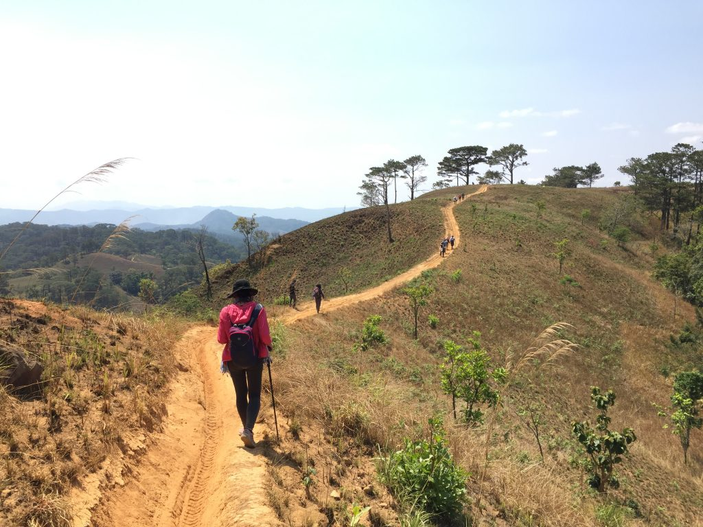 Traveling boosts personality and health as trekking makes people fit