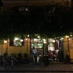 A coffee shop at Hoi An at night