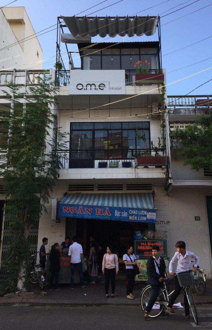 O.M.E hostel at Quy Nhon, Vietnam