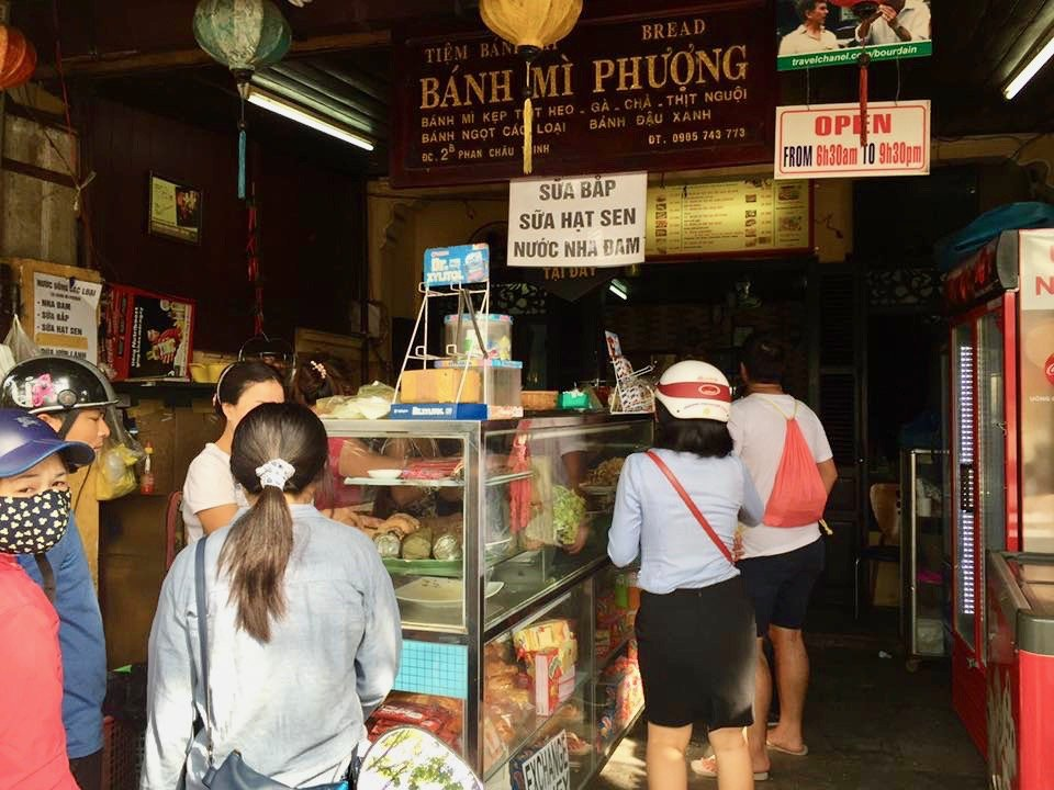 'Banh Mi Phuong', the famous banh mi shop at Hoi An Ancient Town