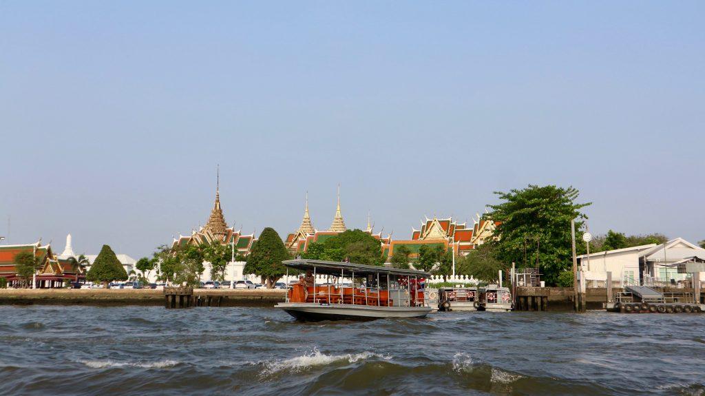 Chao Phraya river of Bangkok