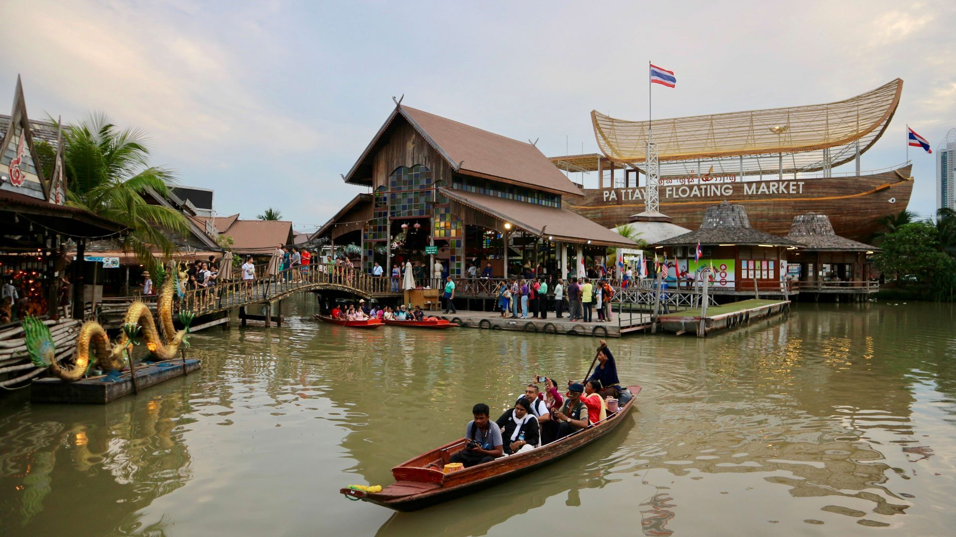 Pattaya Floating Market, another destination in my second day of Bangkok and Pattaya trip.