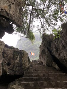 the way to Bai Dinh Pagoda, Trang An Complex