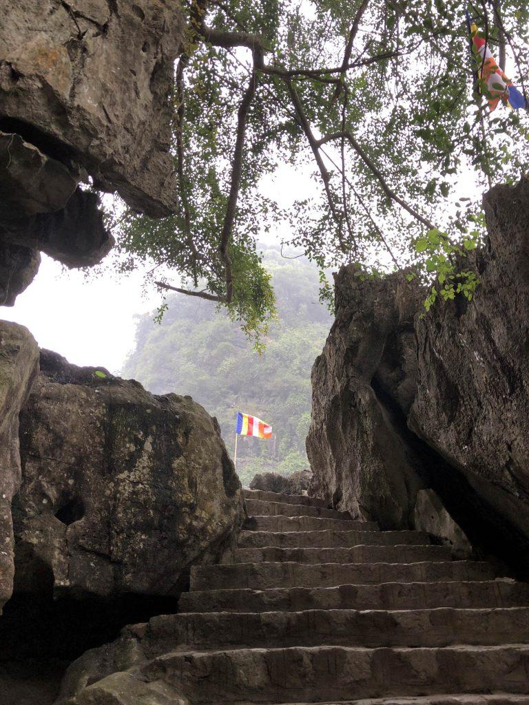 the way to Bai Dinh Pagoda, Ninh Binh