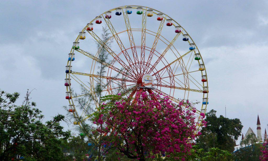 Ferris wheel at Vinpearl Land, Phu Quoc Island, Vietnam