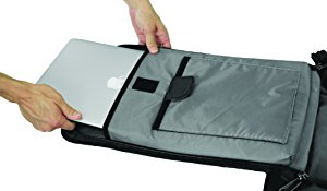 Laptop & Tablet Pocket of Nomatic Travel Bag - The Broad Life Reviews Travel Backpack