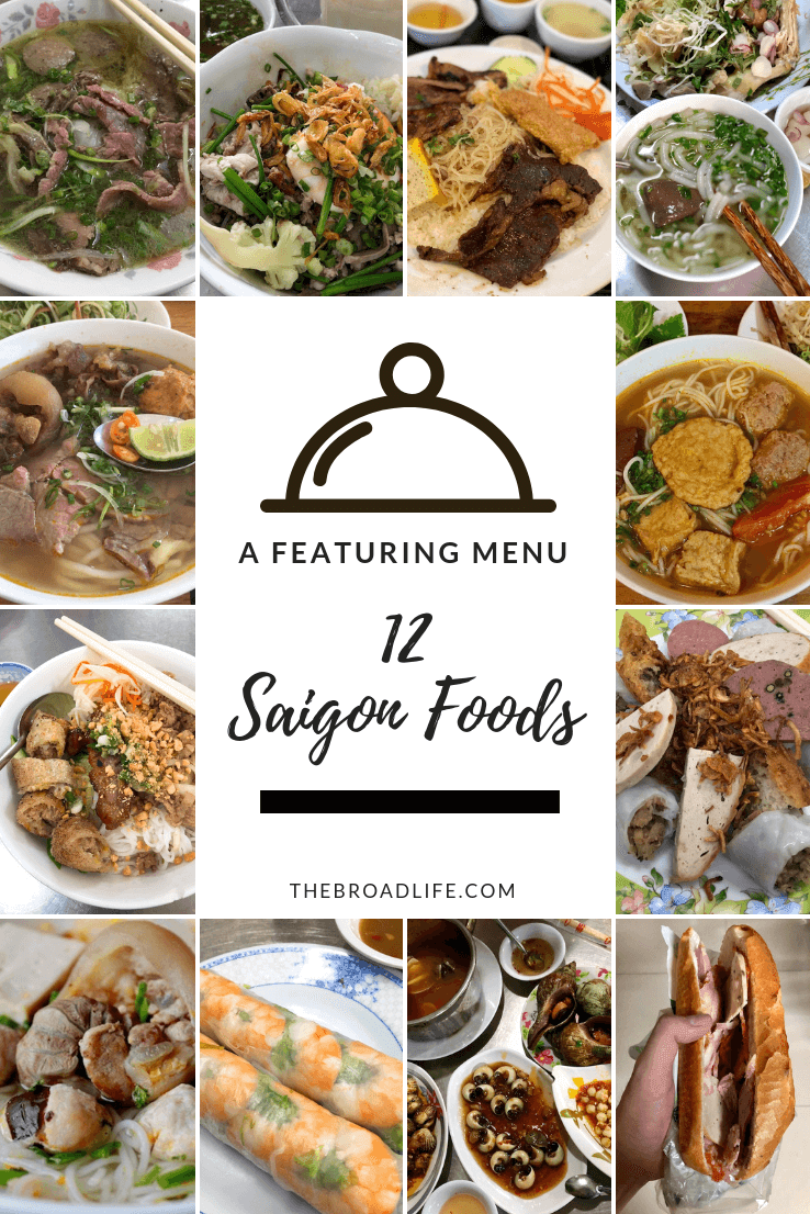 Pinterest Board of 12 Saigon Foods - The Broad Life
