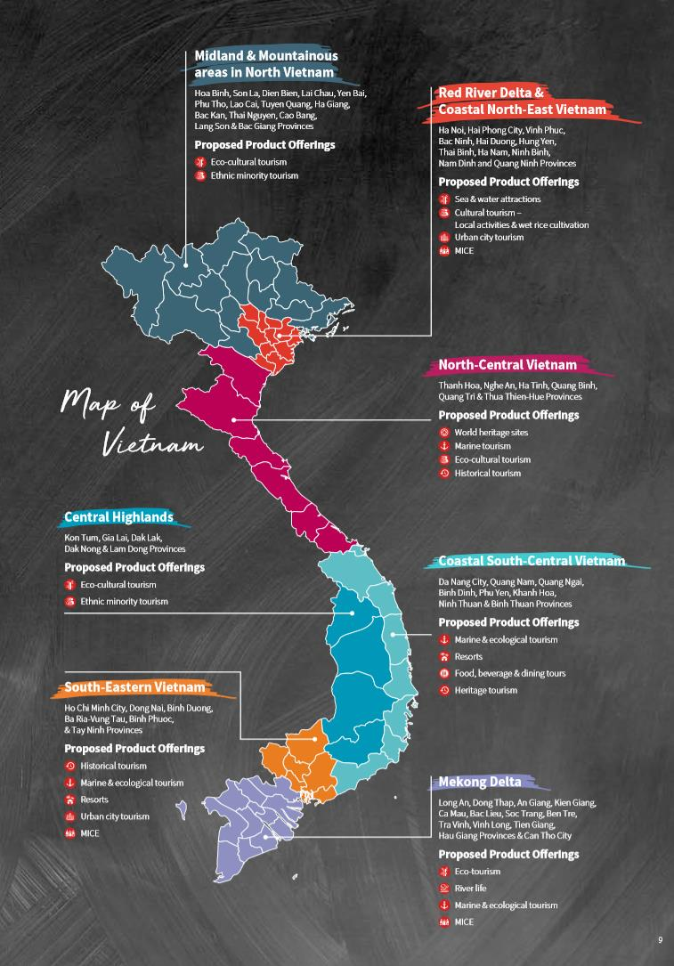 map of travel Vietnam, The Broad Life