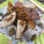 Bánh Cuốn Chả Bò, saigon food, vietnamese cuisine