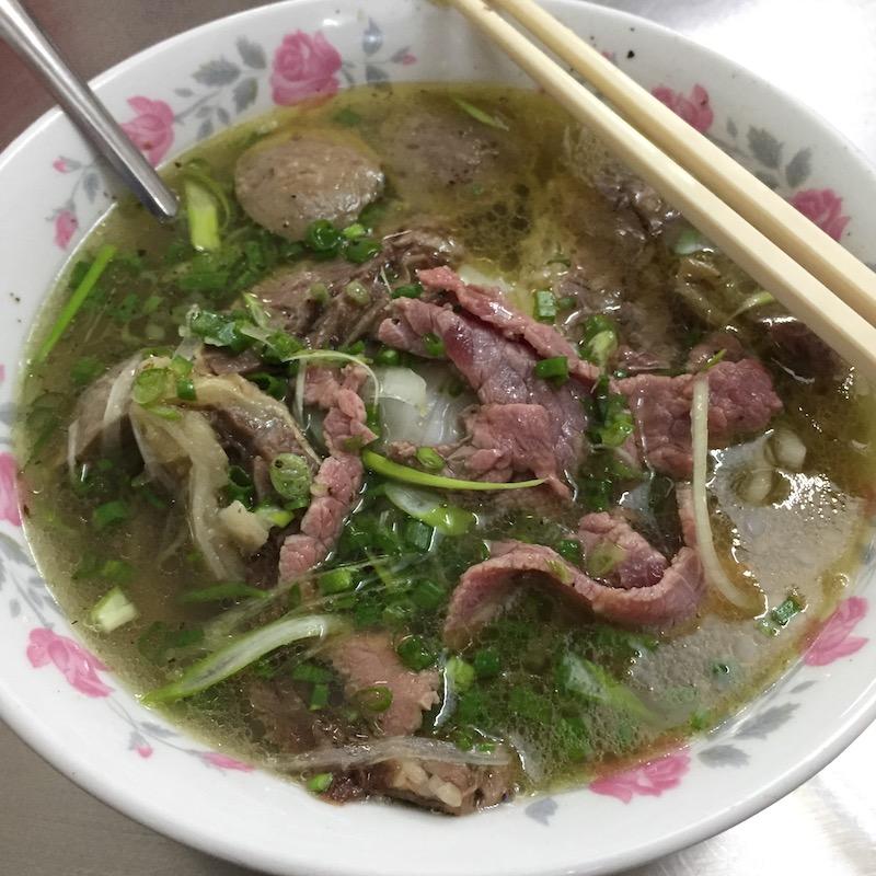 Pho Lệ, Saigon food, Vietnamese cuisine