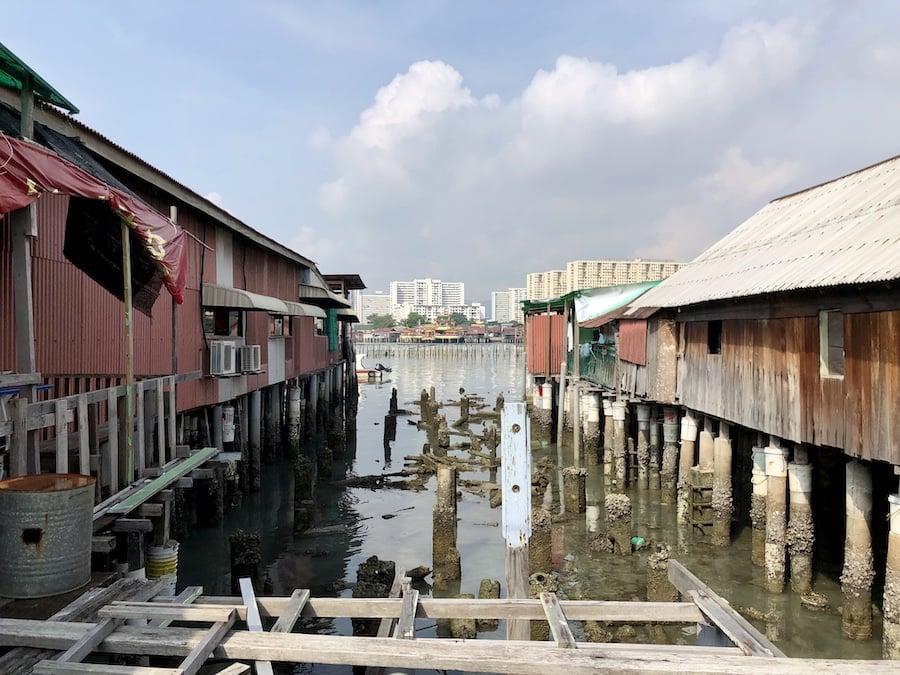 Clan jetties, georgetown, malaysia