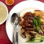 rosted duck with fried rice, chinese cuisine in KL, malaysia