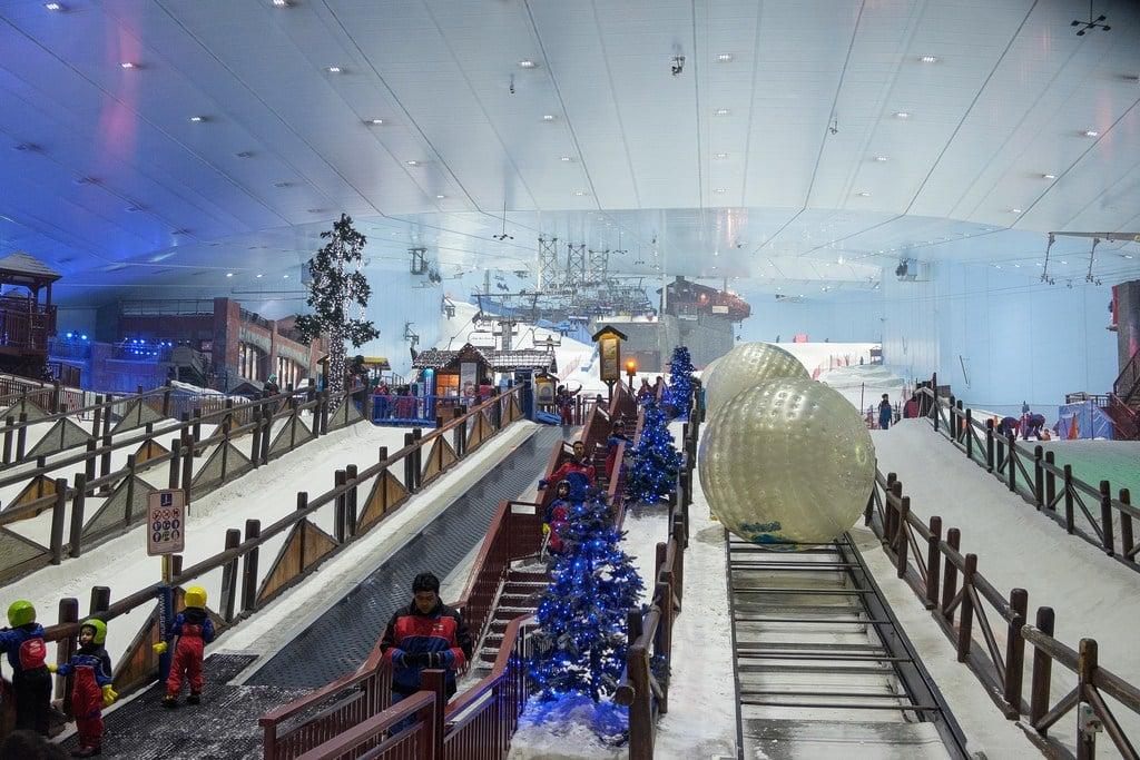 Dubai Attractions - Ski Dubai