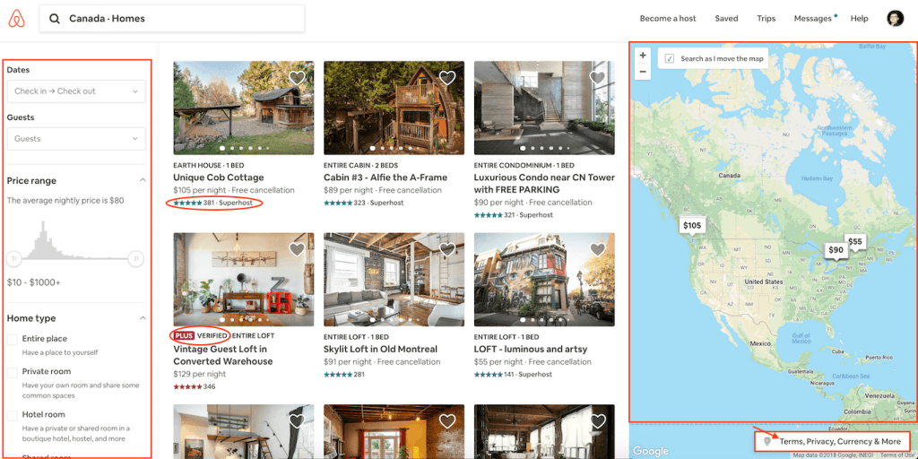 book homestay on Airbnb