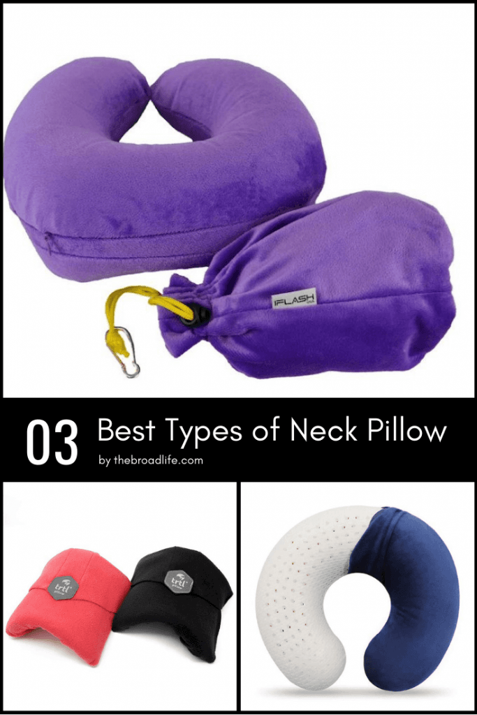 Pinterest Board of 3 Best Types of Neck Pillow for Travelers - The Broad Life