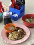 first breakfast, a chinese food, at brinchang, cameron highlands, malaysia