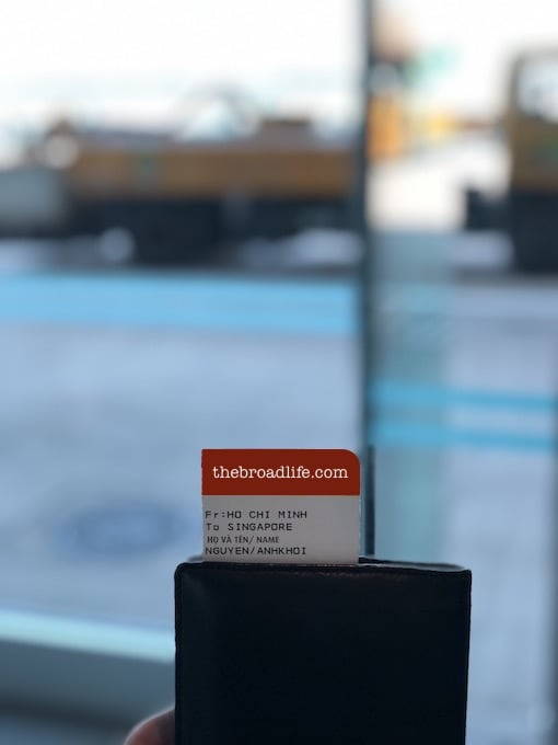 ticket of 5 days trip to singapore, indonesia, malaysia
