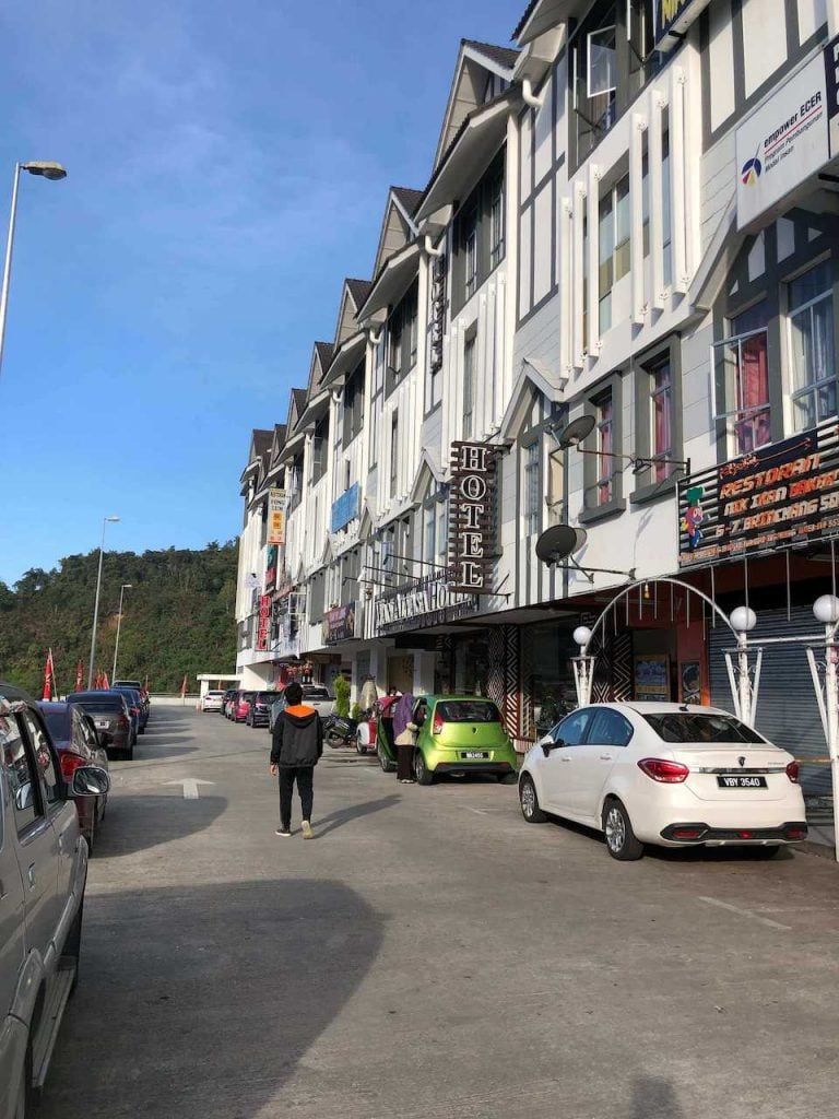 Wandering around Brinchang, Cameron HIghlands in the first time visit