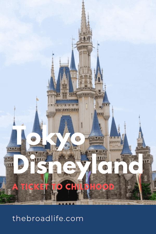 Pinterest Board of The Broad Life's Tokyo Disneyland