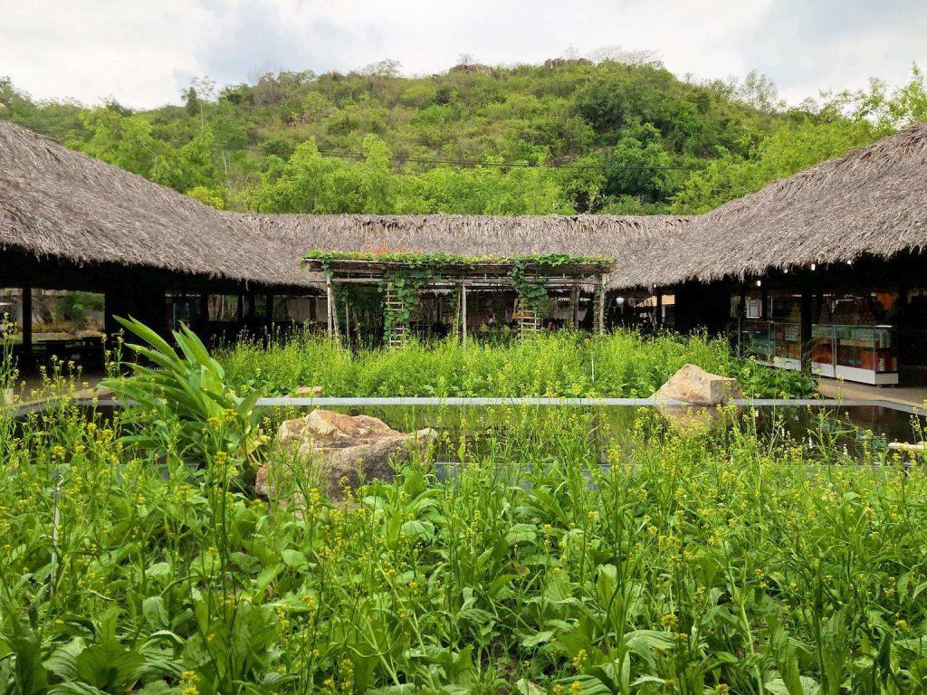 entrance of i-resort, nha trang