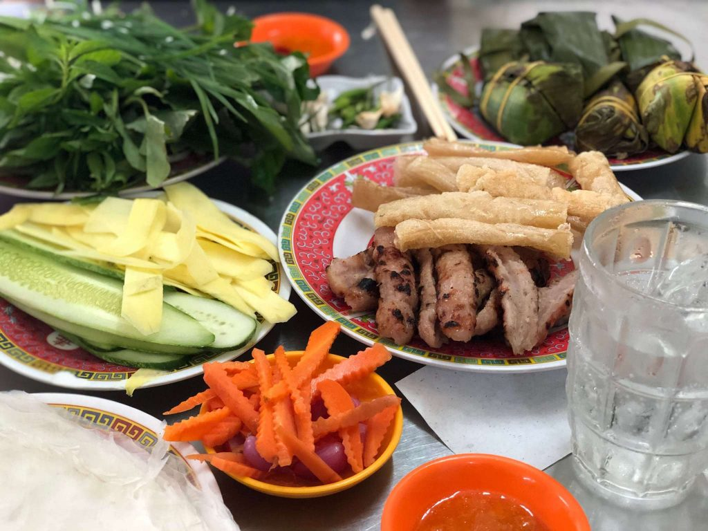 Ninh Hoa Grilled Sausage is one of the foods I tried in my 5 days 4 nights Nha Trang trip