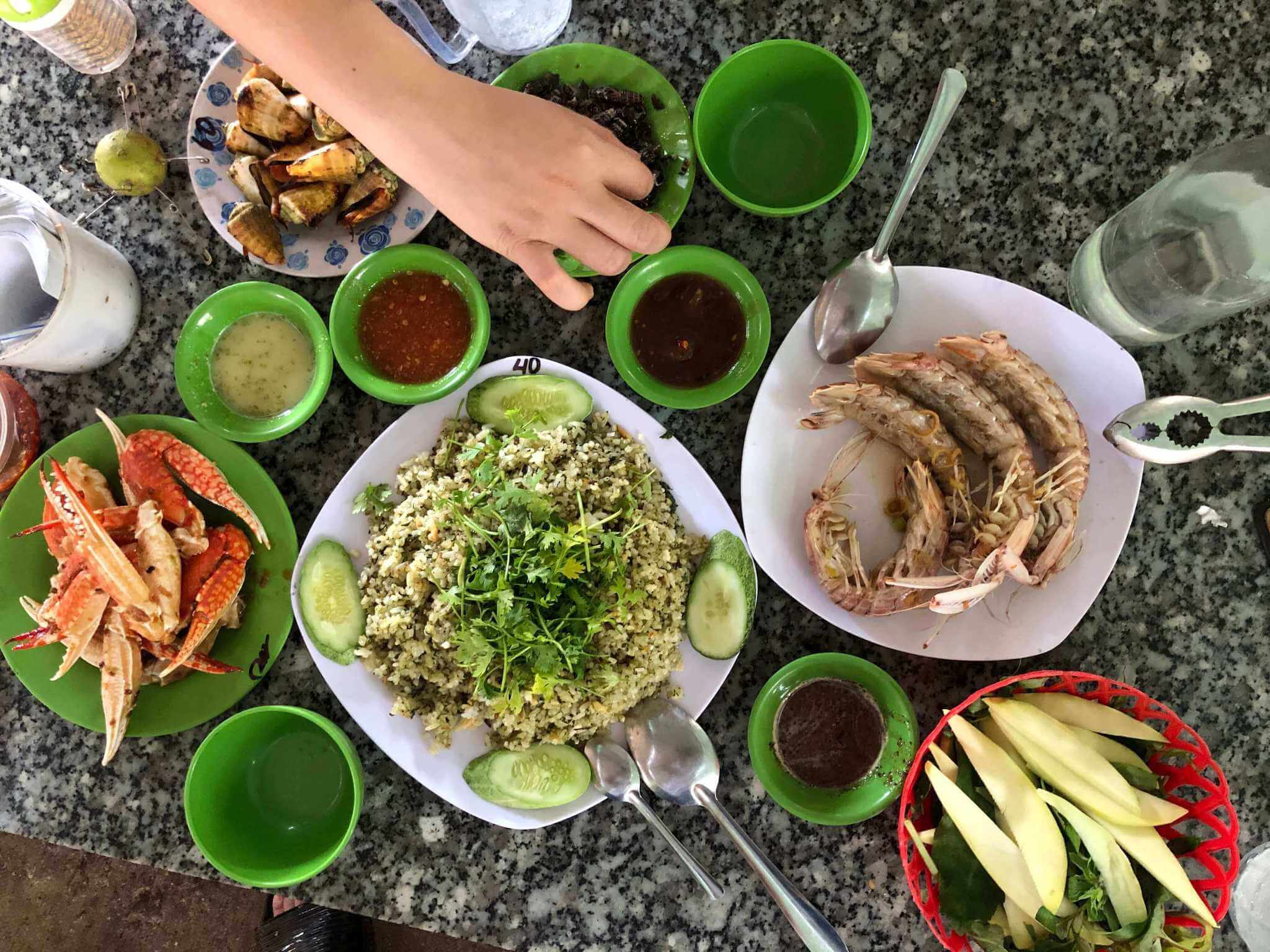 Seafood at Nha Trang