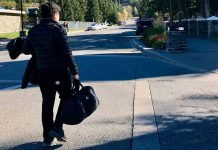 Khoi Nguyen is traveling at Banff, Canada. Traveling makes him smarter
