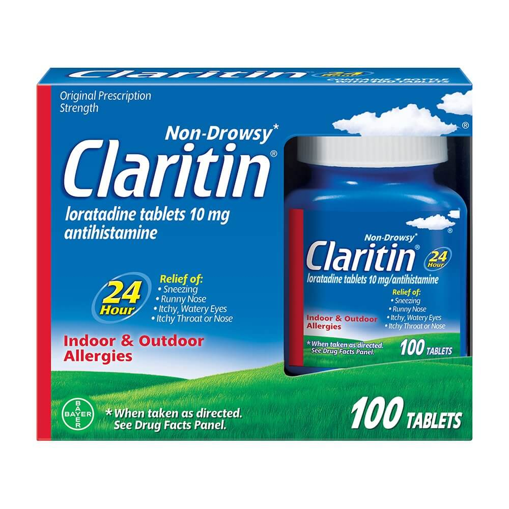 Claritin, many doctors recommend this travel medicines to cure allergies