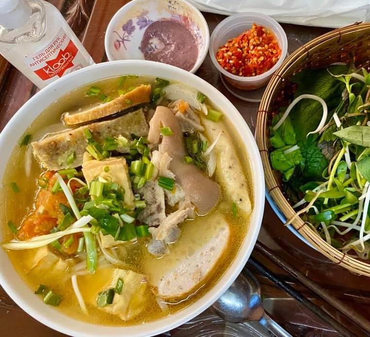 Vietnam Crab Paste Vermicelli Soup
