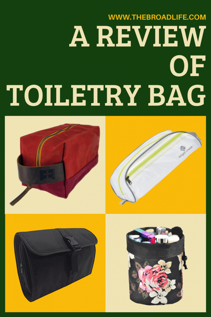 A Review of Toiletry Bag - The Broad Life's Pinterest Board