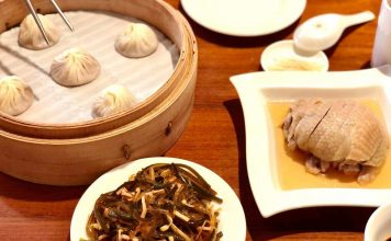 Din Tai Fung meal for the lunch