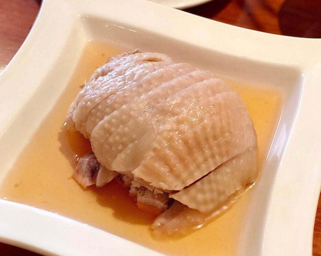 Din Tai Fung's Shaohsing Wine Marinated Chicken