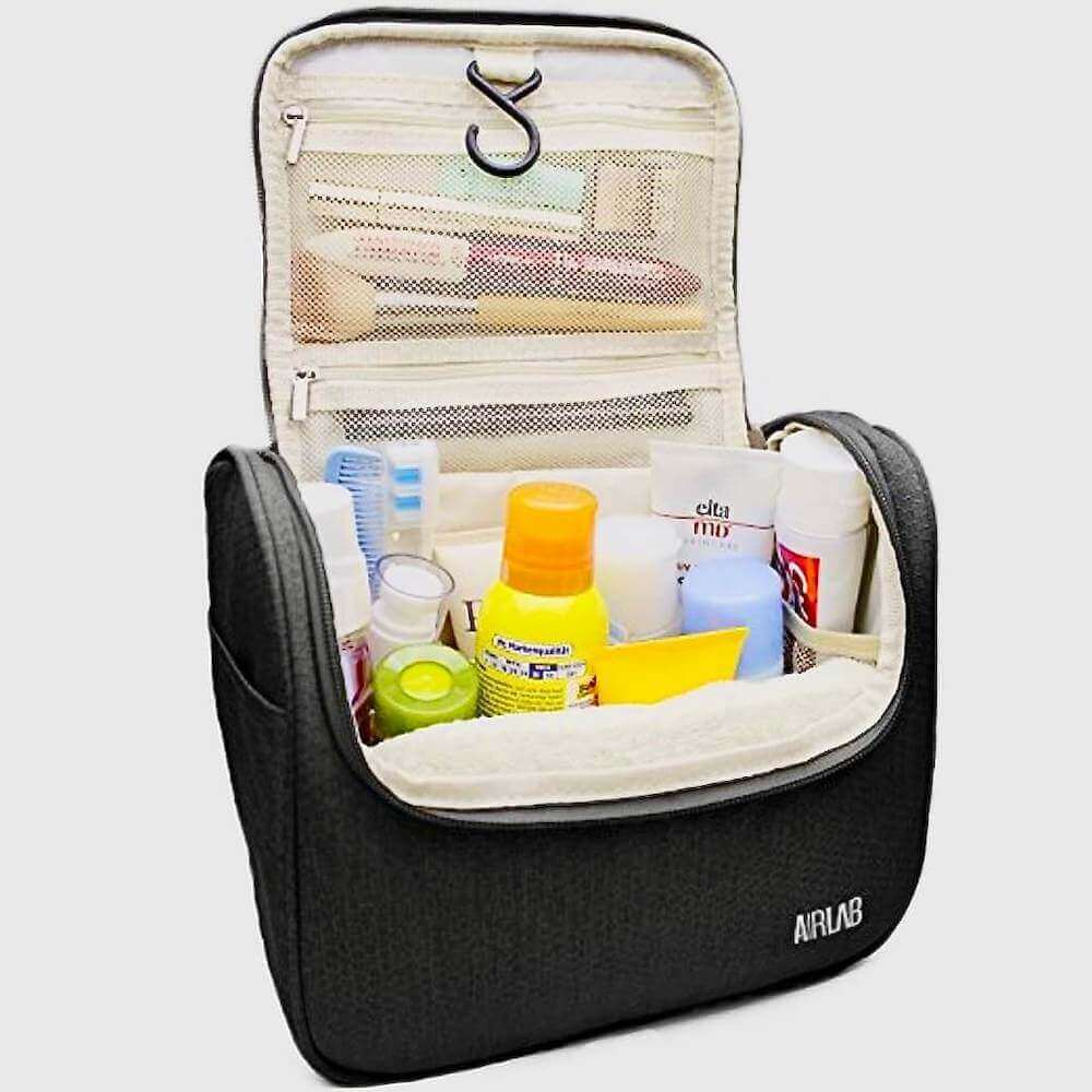 a toiletry bag for personal use
