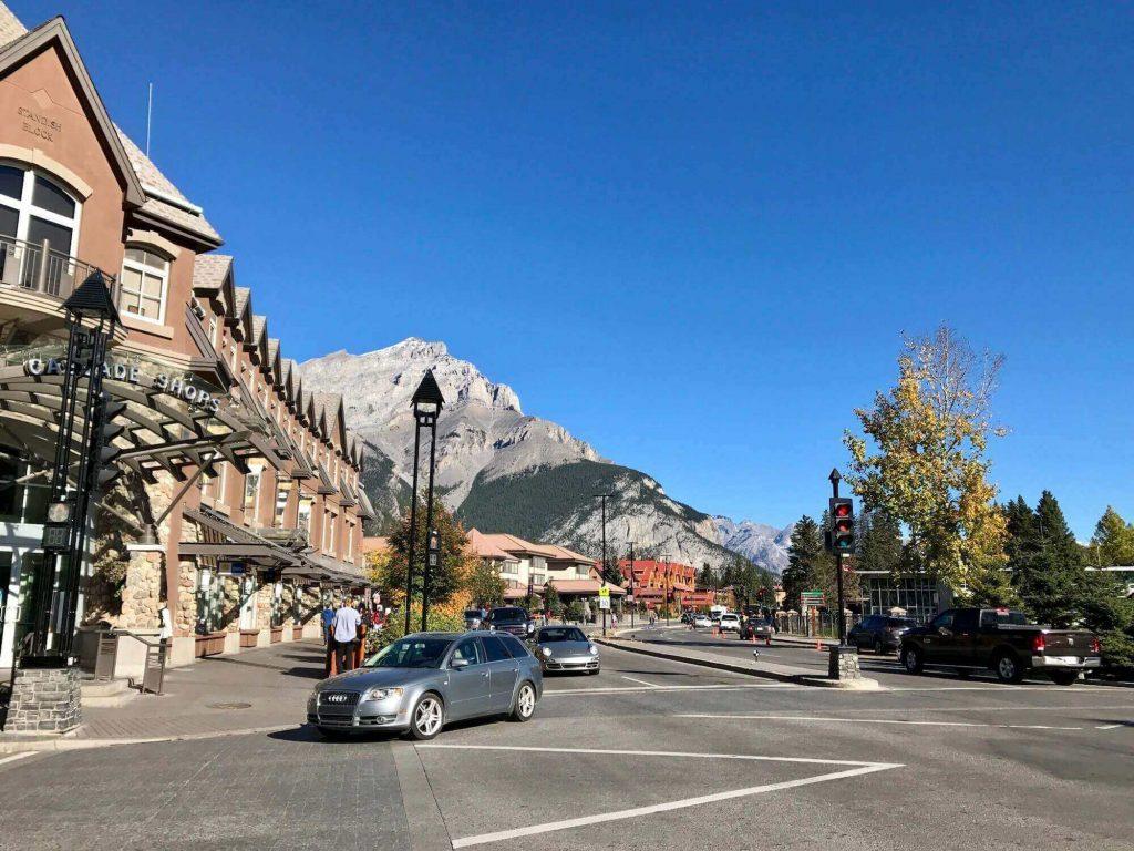 A corner of Banff town