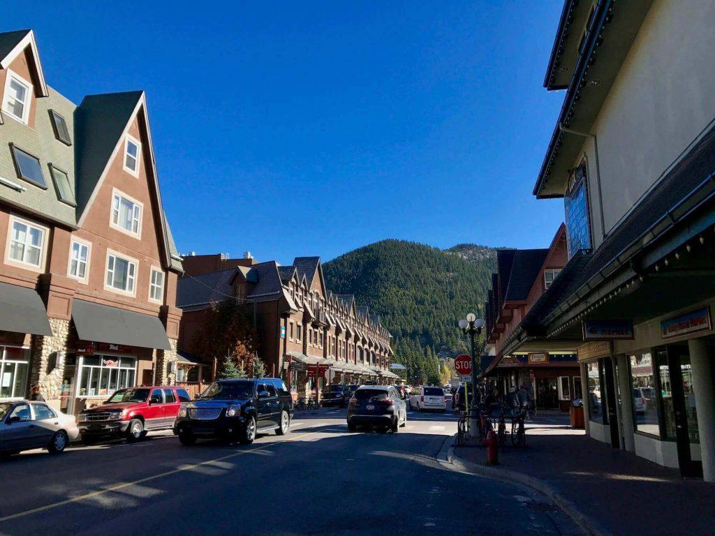 a part of Banff town