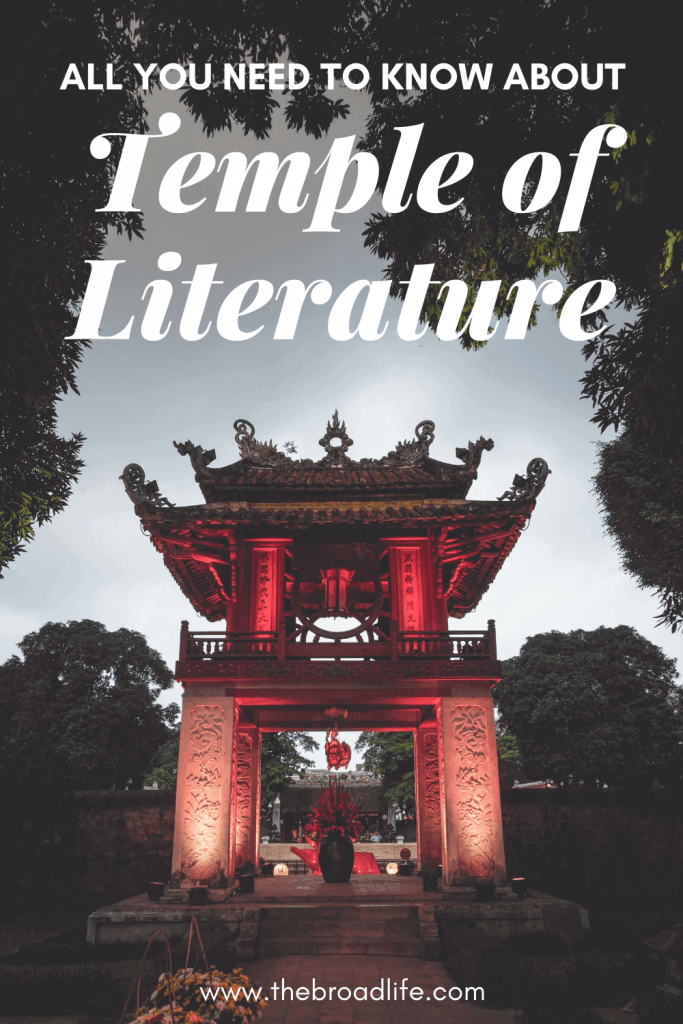 The Broad Life's Pinterest Board of the Temple of Literature Hanoi