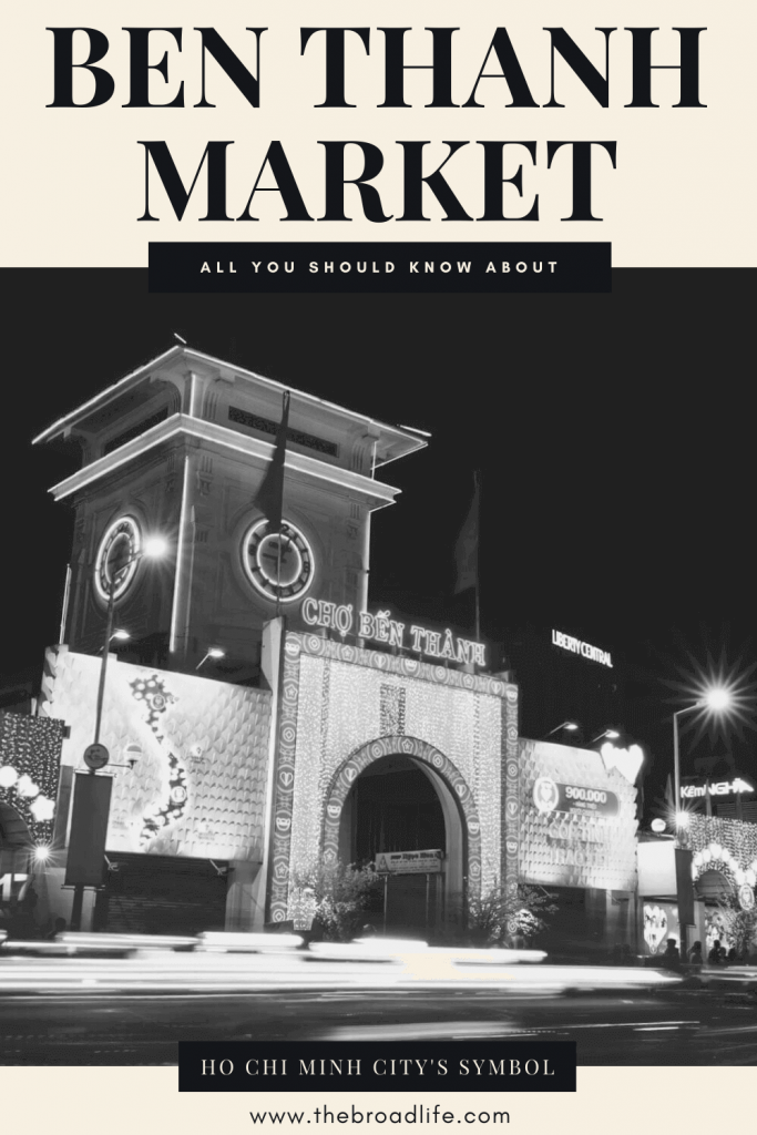The Broad Life's Pinterest Board of Ben Thanh Market