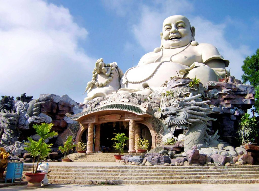 Big Buddha Pagoda at An Giang, Vietnam