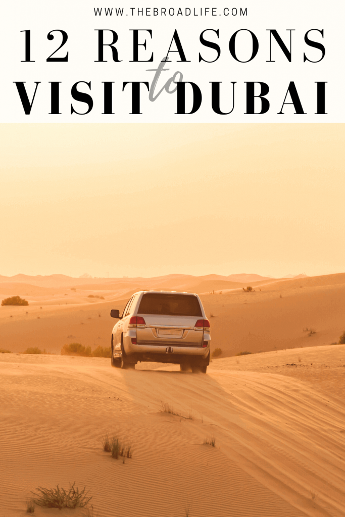 12 reasons to visit Dubai - The Broad Life's Pinterest Board