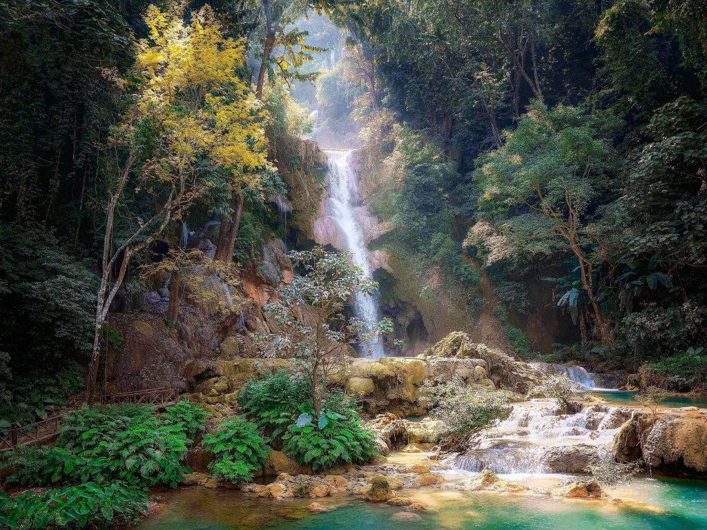 Laos is among the epic places in the world with its hot air balloons, waterfalls, and valleys