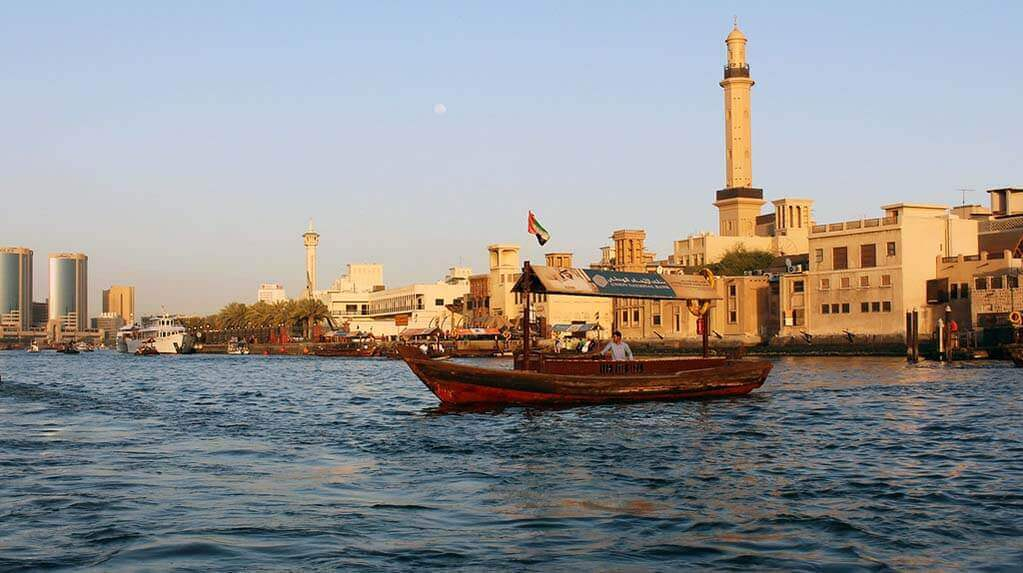 Old Dubai with the historic Bedouin lifestyle