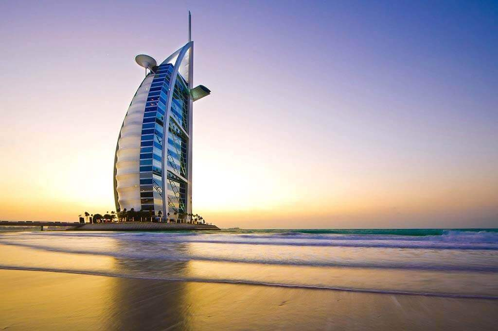 Burj Al Arab - The only 7-star hotel in the world